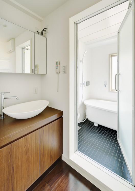 14-基準階洗面及び浴室